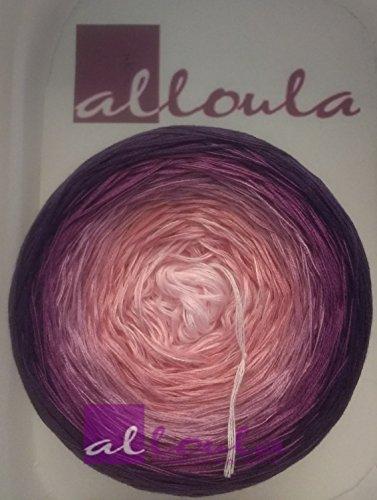 *alloula* Bobbel Farbverlaufsgarn, 3- oder 4-fädig, verschiedene Längen wählbar