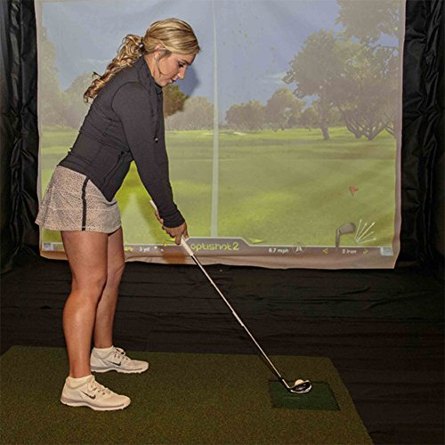 OPTISHOT 2 Golf Simulator (Mac & PC) Bundle | Includes 1 Extra Replacement Mat and 1 American Eagle Golf Ball Marker by optishot (Image #3)