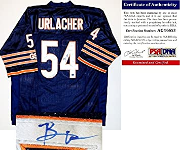 Brian Urlacher Signed - Autographed Custom Jersey - PSA DNA Certificate of  Authenticity (COA 7854680e6