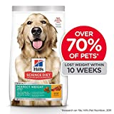 Hill's Science Diet, Perfect Weight (Control de Peso) Alimento para Perros Adultos, Seco (Bulto) 12.9kg