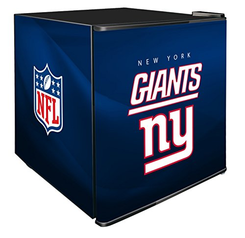 NFL New York Giants Refrigerated Counter Top Cooler, Small, Blue by SG Merchandising Solution