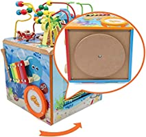 Under The Sea Adventures Deluxe Activity Wooden Maze Cube