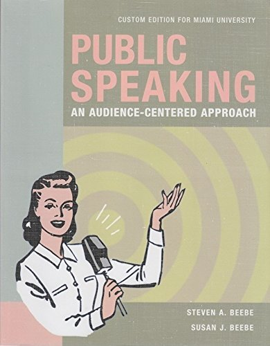 Free Download: Public Speaking: An Audience-Centered ...