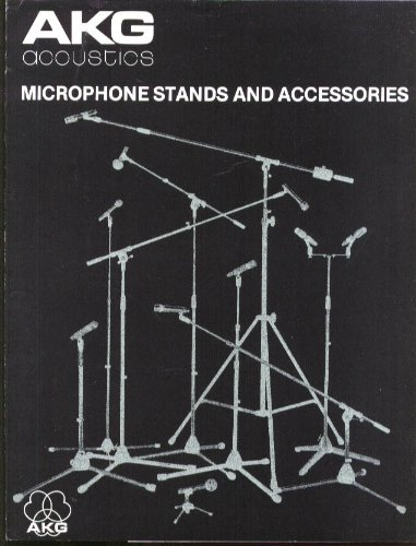 - AKG Acoustics Microphone Stand & Accessory catalog 1979