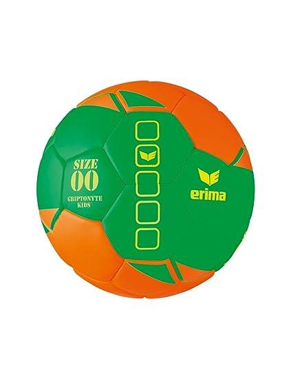 erima gripto nyte Kids Lite de Balonmano, Color Verde/Naranja ...