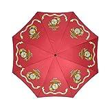 USMC Emblem,US Marines,US Marine Corps,Semper Fi High-quality Foldable Umbrella