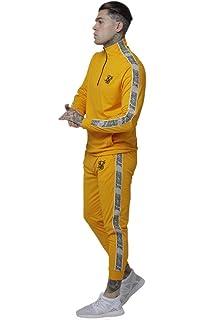 Sik Silk Pantalón de Chandal PolyTricot: Amazon.es: Ropa y accesorios