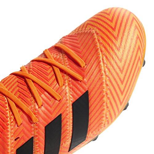 Junior Nemeziz Core 1 Firm Cleats Red Kids Soccer Black 18 Ground adidas Zest Solar SxnHU46n
