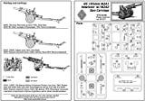 ACE US 105mm Howitzer M2A1 w/M2A2 Gun Carriage 1/72 72527