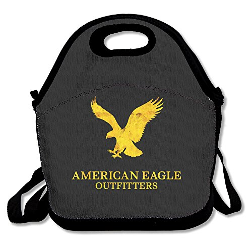 American Eagle Outfitters Logo Lunch Box Bag For Kids Adult Men Women Girl Boy,lunch Tote Lunch Holder With Adjustable Strap ,double Shoulder