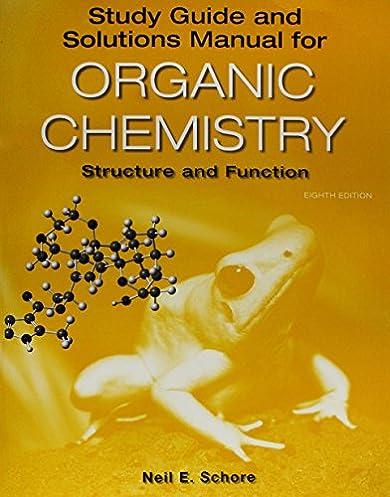 amazon com study guide solutions manual for organic chemistry rh amazon com