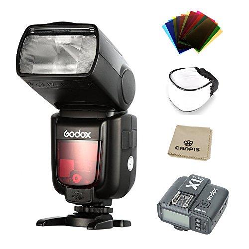 Godox Thinklite TTL HSS TT685N Camera Flash, with X1T-N Transimitter High Speed 1/8000 GN60 for Nikon DSLR Cameras (TT685N+X1T-N) by Godox