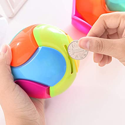 Amazon.com: Autones forma de bola monedero banco, bricolaje ...