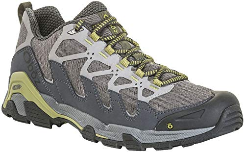 Oboz Cirque Low Hiking Shoe - Men's Pewter/Woodbine Green 9.5 ()