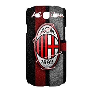 Samsung Galaxy S3 I9300 Phone case White AC Milan ZAC1243943