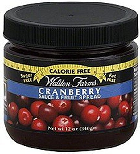 Walden Farms Cranberry Sauce & Fruit Spread ~ 12 oz (1 pack)