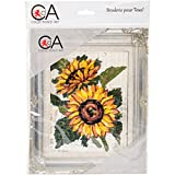 RTO Sunflowers Collection D'Art Stamped Needlepoint Kit