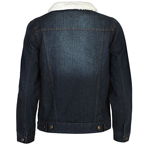f6684f5e9ddad Lee Cooper Lined Denim Jacket Blue - Chaqueta Abrigos Outerwear ...