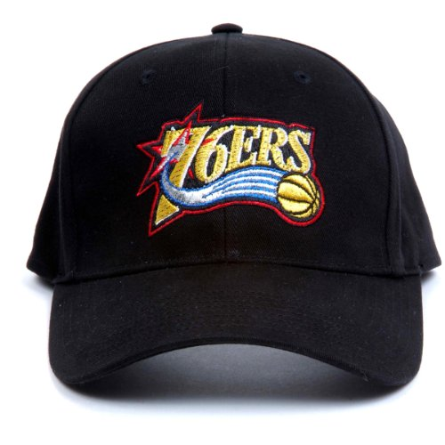 NBA Philadelphia 76Ers LED Light-Up Logo Adjustable Hat