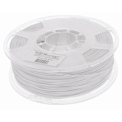 1.75mm Arctic White PLA 3D Printing Filament 1kg (2.2lbs) Spool