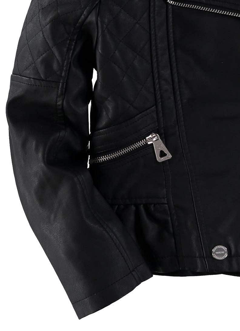 Urban Republic Peplum Faux Leather Moto Jacket
