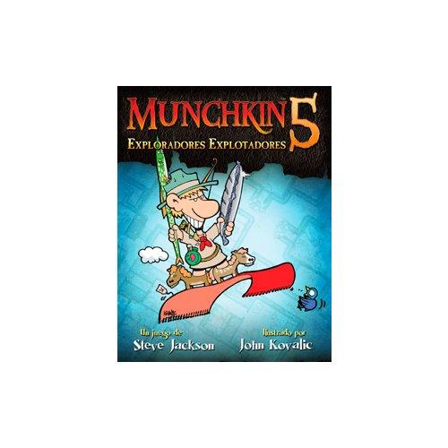 munchkin 5 exploradores explotadores juego de mesa