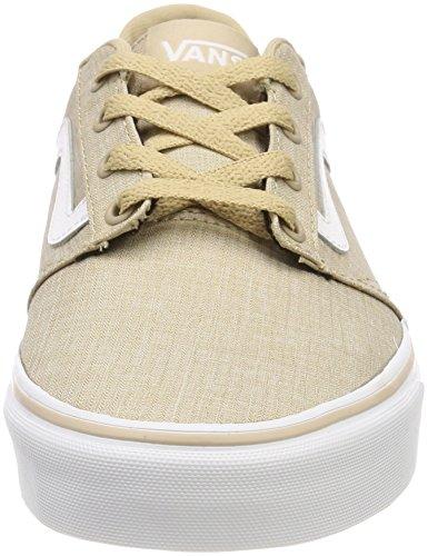 Rock Uomo Vans Textile Beige Stripe Sneaker Chapman Fqqf74g