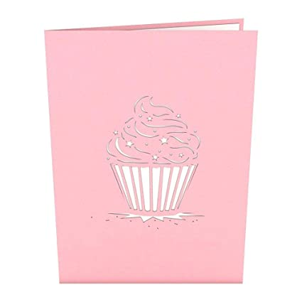 Buy Lovepop Cupcake Birthday Pop Up Card 3D Greeting Online At Low Prices In India