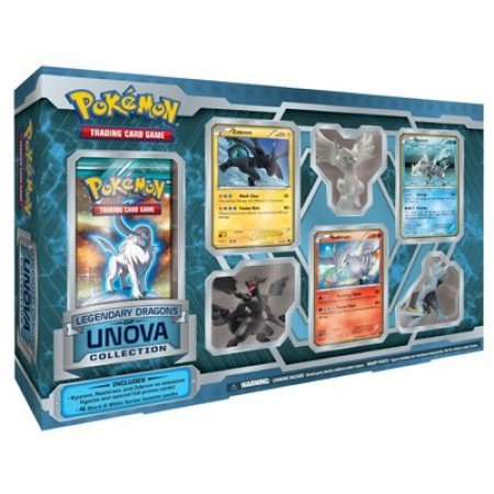Pokemon Legendary Dragons of Unova Collection (Dragon Figure Box)