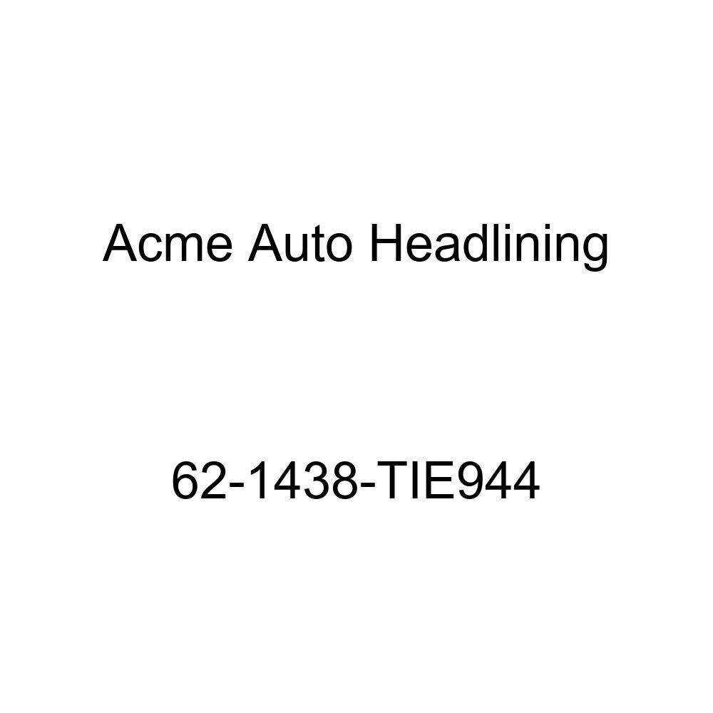 Chevrolet Chevy II 4 Door Wagon 8 Bow Acme Auto Headlining 62-1438-TIE944 White Replacement Headliner