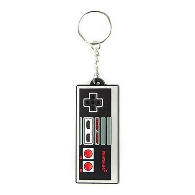 Bioworld Nintendo Controller Keychain: Clothing
