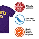Campus Colors LSU Tigers Adult Arch & Logo Soft