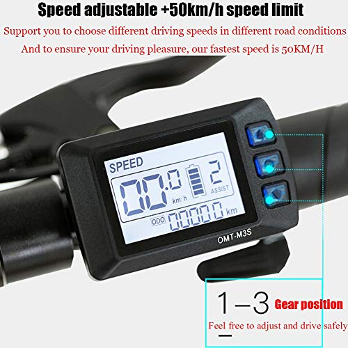 Amazon.com: ZBB Scooters eléctrico adulto plegable 551.2 lbs ...