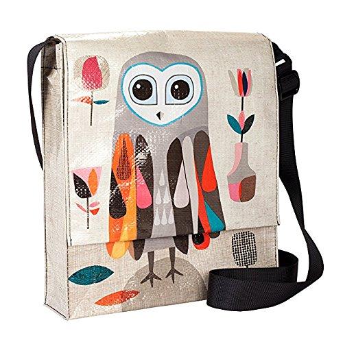 - BlueQ Hoo's Next Messenger Bag