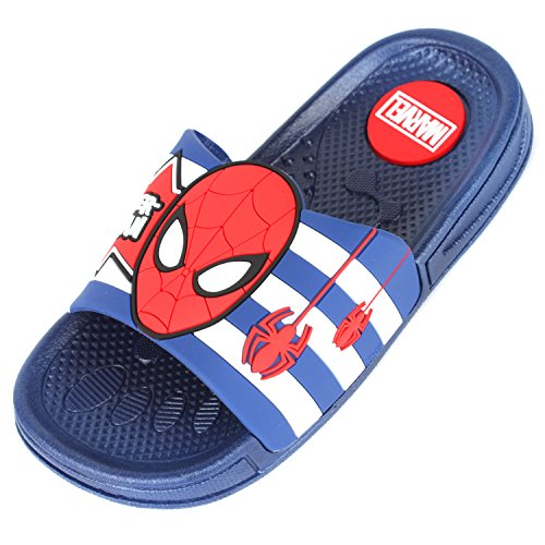 Image of Joah Store Boys Girls Slide Sandals Shoes Spider-Man Star Wars Elsa Princess Iron-Man Mickey Characters