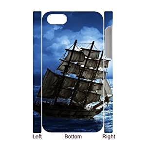 For Samsung Galaxy S3 I9300 Case Cover Ship 3D Art Print Design Phone Back Case Customized Hard Shell Protection FG100518
