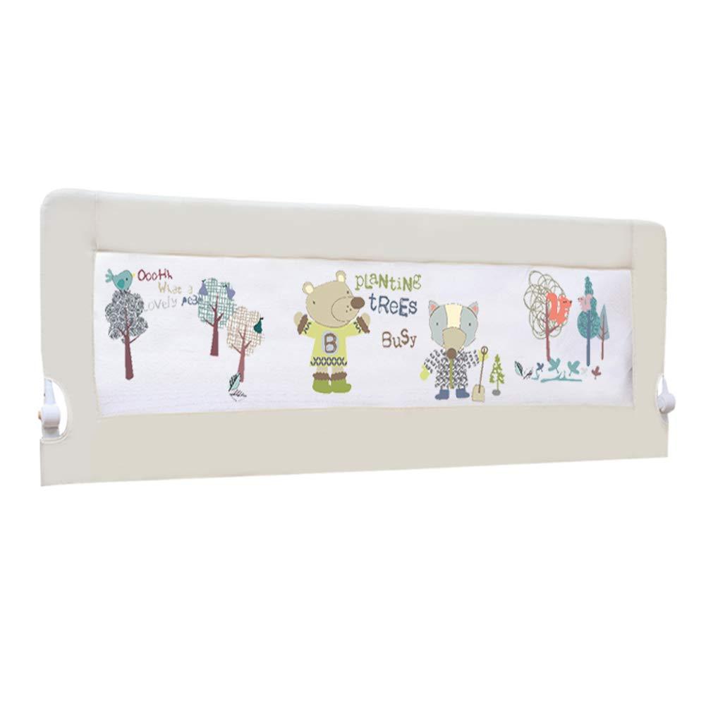 ベッドフェンス, 子供のためのポータブル折りたたみベビーベッドレール/幼児、幼児のためのベッドレイルガード、4サイズ利用可能 - 68センチメートル高い (サイズ さいず : 180cm) 180cm  B07K6P74CB