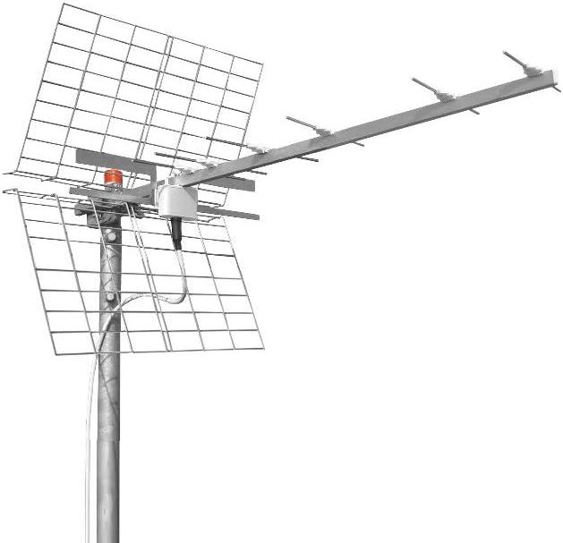 Antena Digital terrestre LTE OFFEL UHF 13.5dB 21-403 Made ...