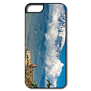 Geek Silicone Church Mountain Slope IPhone 5/5s Case For Friend