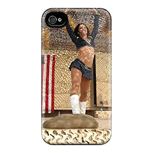 Top Quality Rugged St. Louis Rams Cheerleaders Outfit Case Cover For Iphone 4/4s