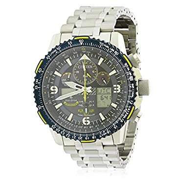 Citizen Watches Men S Jy8078 52l Promaster Skyhawk A T Silver Tone One Size Compare Prices Set Price Alerts And Save With Gosale Com