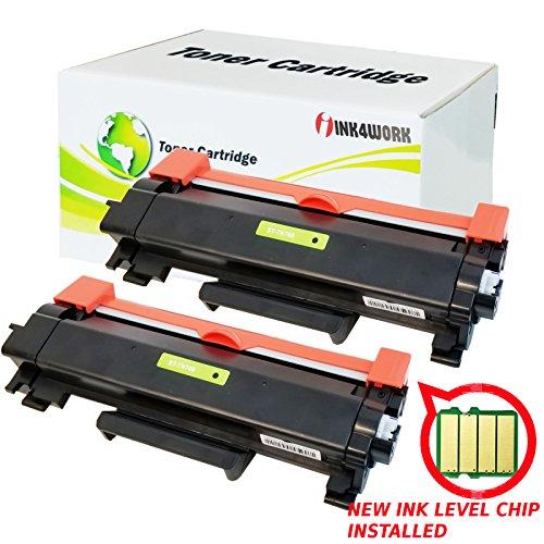 INK4WORK Compatible Toner Cartridge Replacement for Brother TN-760 TN730 TN760 HLL2395DW HL-L2350dw HL-L2370dw MFC-L2710dw DCP-L2550dw MFC-L2750dw HL2390DW (Black, 2-Pack) ()
