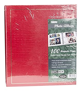 Pioneer Magnetic Page Photo Album, 10-Inch-by-11-1/2-Inch, 100 Pages, Colors May vary Pioneer Photo LM100