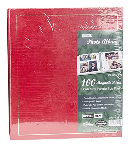 Pioneer LM100 Binder Magnetic 3-ring Photo Album 100-page , Pack of 1 by Pioneer