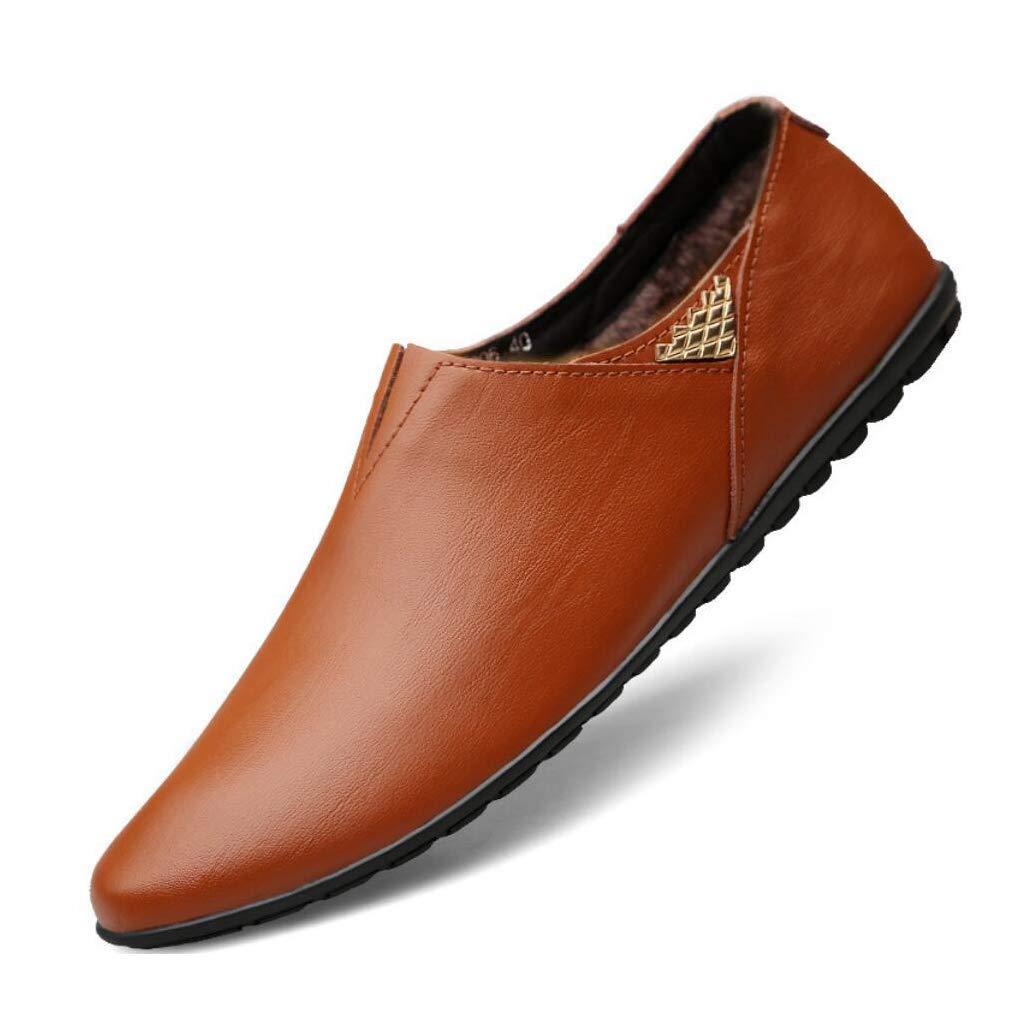 Chaussures Homme Cuir Printemps/Automne Confort/Mocassins & Slip-Ons/Chaussures Pois - Fond Mou/Chaussures de Conduite/Chaussures Homme/Chaussures à Semelle Claire