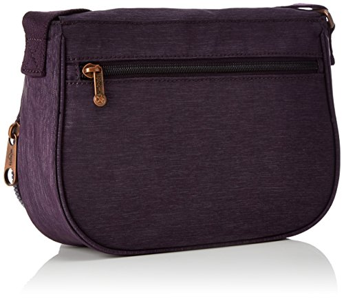 Womens Cross Body Aubergine Kipling Earthbeat Bag Spark X56 Purple S 7cdASfq
