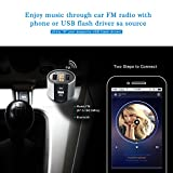 Bluetooth FM Transmitter for Car, Wireless