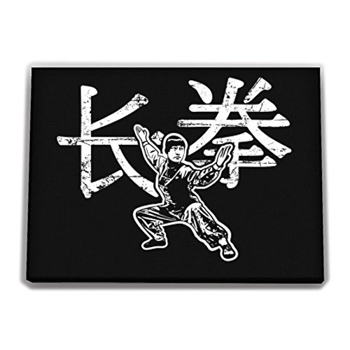 Idakoos - Wushu changquan chinese character - Sports - Canvas Wall
