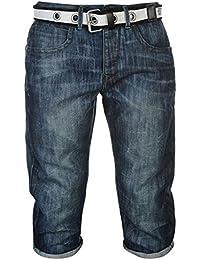 Mens Loose Below The Knee Fit DC Shorts Pants Bottoms