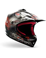 ARMOR Helmets AKC-49 Casco Moto-Cross, DOT certificado, Bolsa de transporte